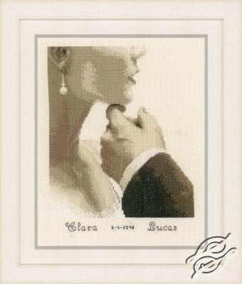 Bride and Groom by Vervaco - PN-0166022