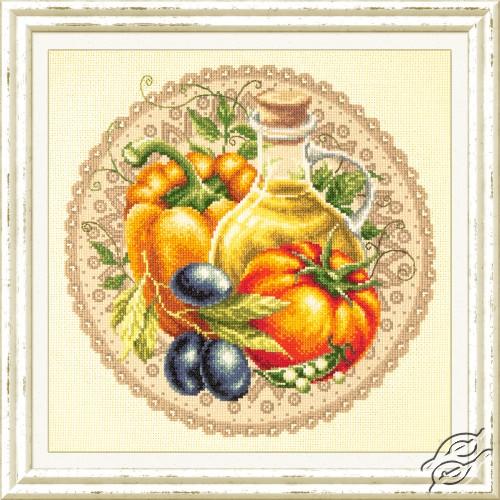 Mediterranean Salad by Magic Needle - 54-01