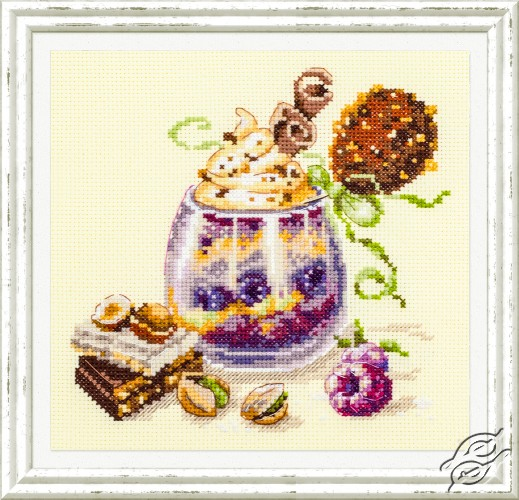 Chocolate Dessert by Magic Needle - 120-080