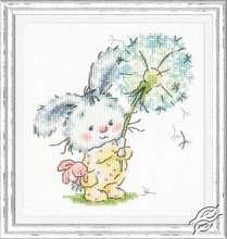 Bunny and Dandelion by Magic Needle - 19-06