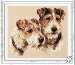Fox Terriers by Magic Needle - 59-26