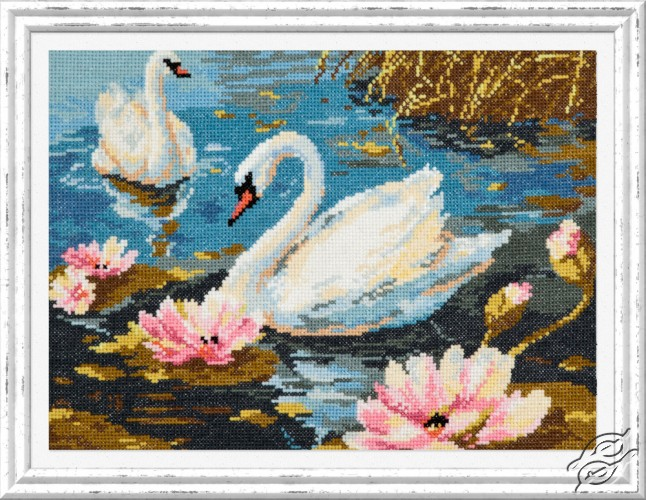 Swan Couple by Magic Needle - 64-01