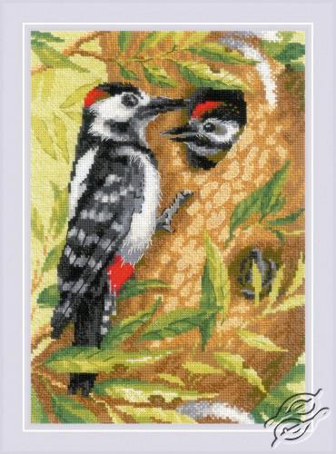 Woodpecker by RIOLIS - 1851