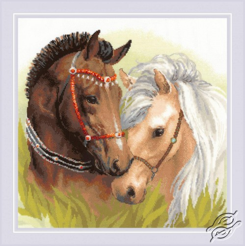 Pair of Horses by RIOLIS - 1864