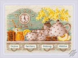 Tea Time by RIOLIS - 1873