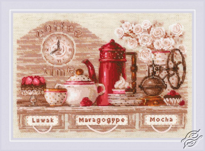 Coffee Time by RIOLIS - 1874
