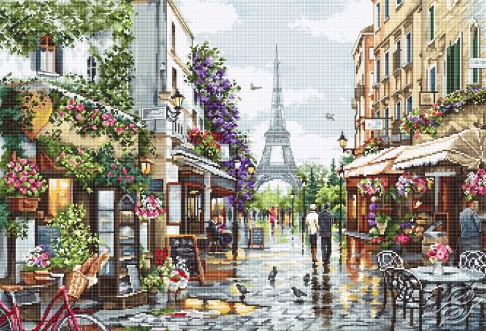 Paris in Flowers by Luca-S - B2365