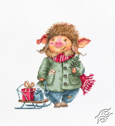 Christmas Pig by Luca-S - B1160