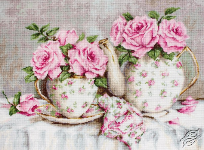 Morning Tea and Roses by Luca-S - BA2320