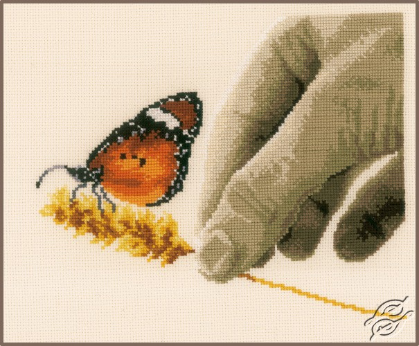 Hand & Butterfly by Vervaco - PN-0157546