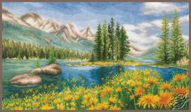 Mountain Landscape by Vervaco - PN-0174811