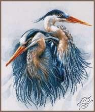 Great Blue Herons by Lanarte - PN-0185890