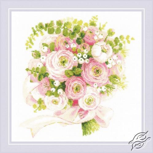 Wedding Bouquet by RIOLIS - 1867