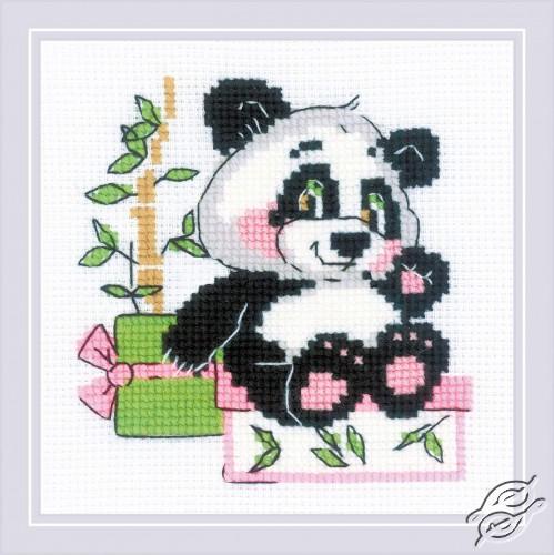 Panda Gift by RIOLIS - 1883