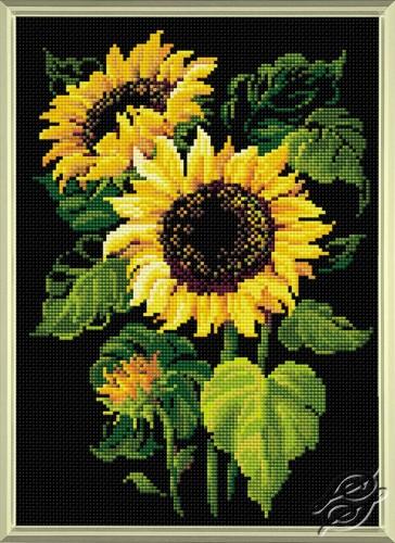 Diamond Mosaic Sunflowers by RIOLIS - AM0006