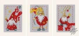 Christmas Gnomes by Vervaco - PN-0185078