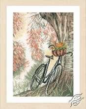 Bike & Flower Basket by Lanarte - PN-0171414