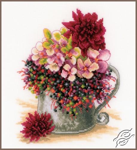 Pink Blush Bouquet by Lanarte - PN-0185110