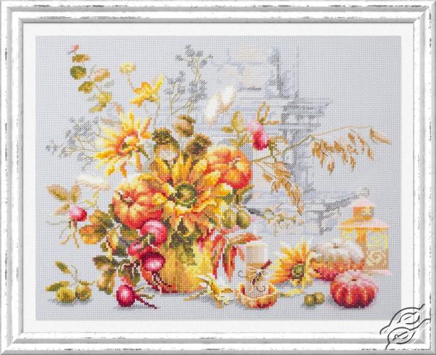 Autumn Improvisation by Magic Needle - 120-012