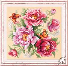 Flower Magic - Peonies by Magic Needle - 140-001