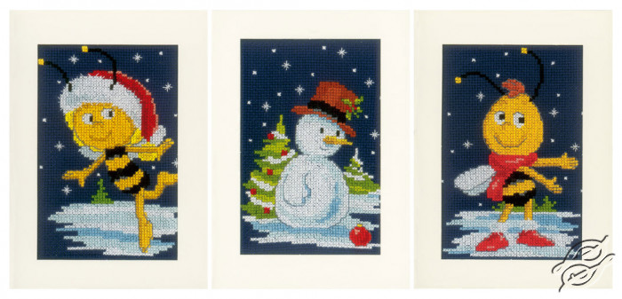 Snow with Maya&Willy by Vervaco - PN-0154076
