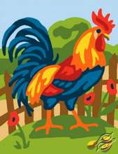 Rooster by Collection D'Art - 3334K
