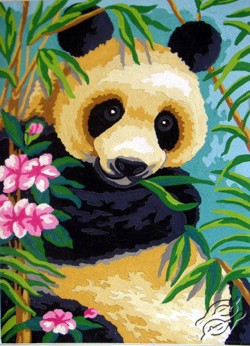 Panda by Collection D'Art - 6238K