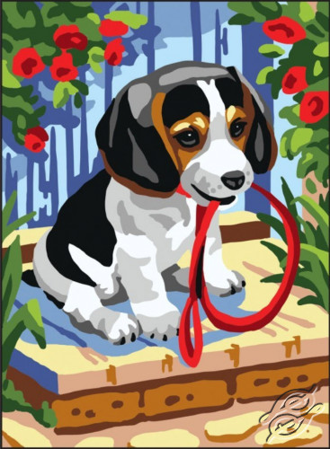 Puppy by Collection D'Art - 6309K
