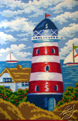 Lighthouse by Collection D'Art - 6230K