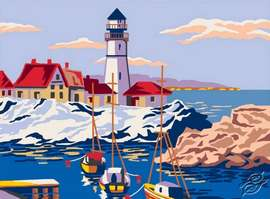 Waterfront by Collection D'Art - 6294K