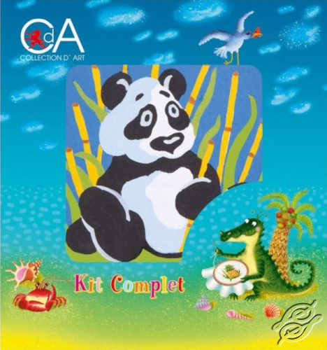Panda by Collection D'Art - 1013K