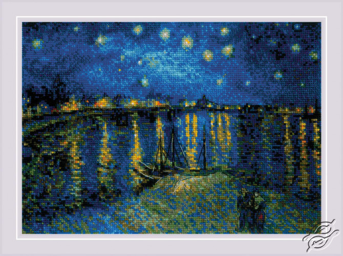 Starry Night Over the Rhone by RIOLIS - 1884