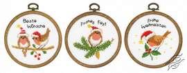 Christmas Birds by Vervaco - PN-0182761