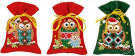 Christmas Owls by Vervaco - PN-0155943