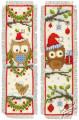 Owls in Santa Hats by Vervaco - PN-0149284
