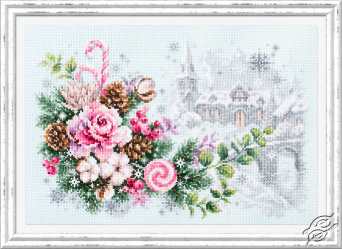 Christmas Sentiment by Magic Needle - 100-244