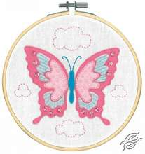 Craft Kit With Felt Butterfly by Vervaco - PN-0180496