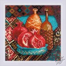 Pomegranates by RIOLIS - 1858