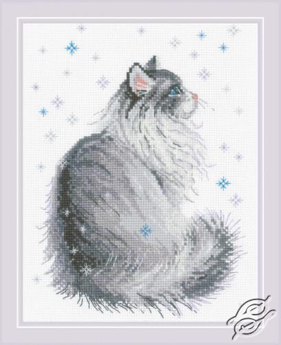 Snowy Meow by RIOLIS - 1912