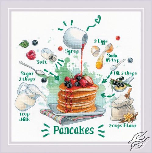 Recipe. Pancakes by RIOLIS - 1919