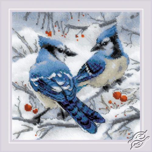 Blue Jays by RIOLIS - 1925