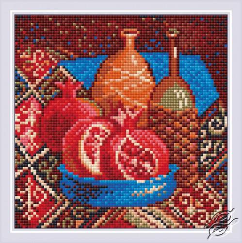 Pomegranates by RIOLIS - AM0033