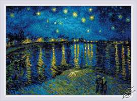 Starry Night Over the Rhone by RIOLIS - AM0044
