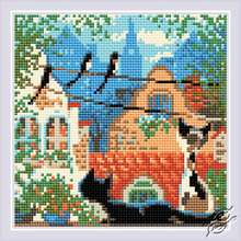 City and Cats. Summer by RIOLIS - AM0048