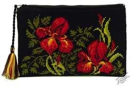 Cosmetic Bag Irises by RIOLIS - 1679AC