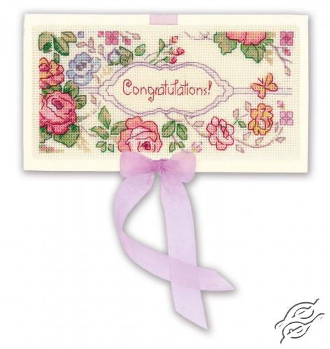 Card Congratulations! by RIOLIS - 1783AC