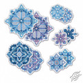 Snowflakes Decorations by RIOLIS - 1889AC