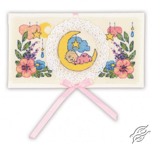 Card Congratulations on the Newborn by RIOLIS - 1893AC