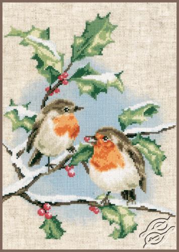 Winter Robins by Vervaco - PN-0170739