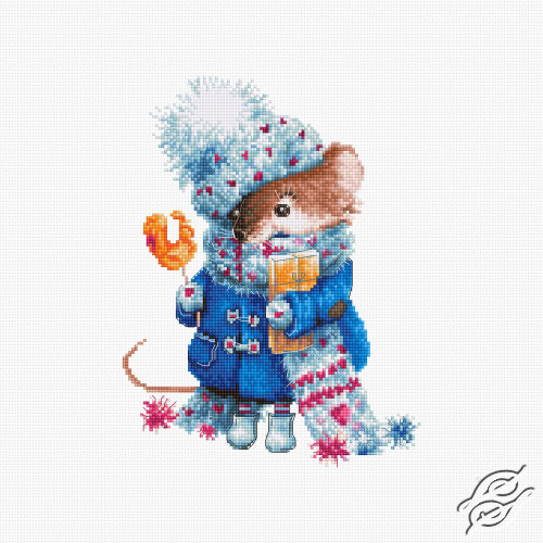 Christmas Mouse by Luca-S - B1168